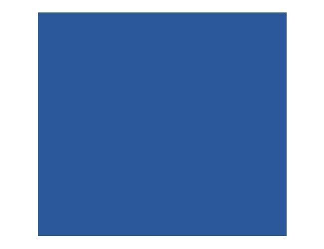 Cambro 6 Feet Navy Blue Buffet Bar with Sneeze Guard, 73 7/8 x 24 1/8 x 24 1/2 inch -- 1 each.