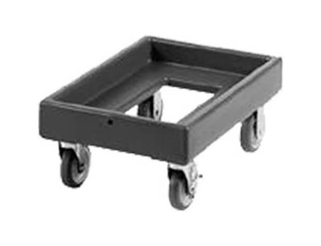 Cambro Coffee Beige Camdolly with No Handle for Catering Equipment, 16 7/16 x 10 3/8 x 24 3/8 inch -- 1 each.