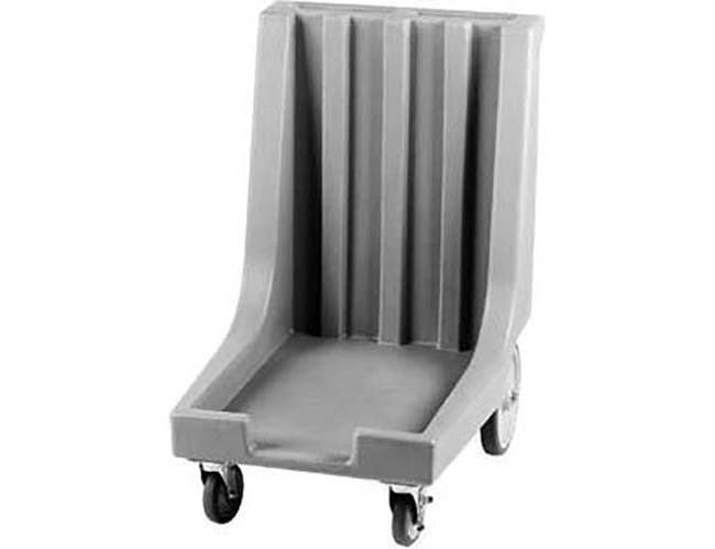 Cambro Slate Blue Camdolly with Handle and Rear Big Wheels for Sheet Pans and Trays, 23 3/8 x 36 1/2 x 33 1/2 inch -- 1 each.