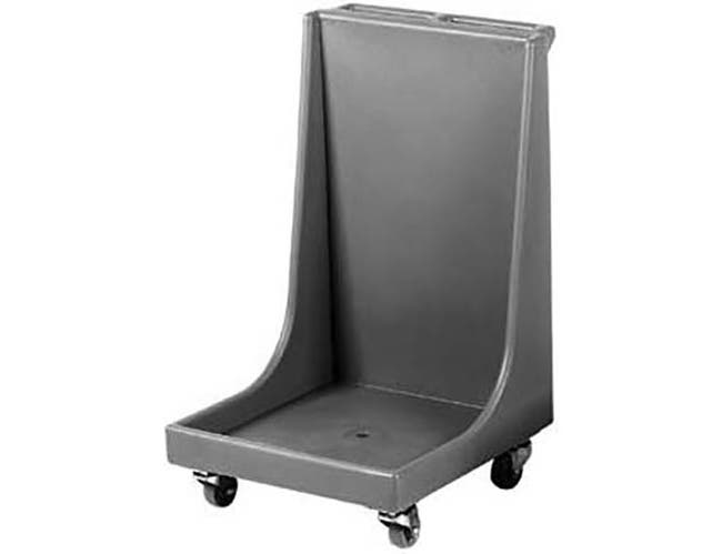 Cambro Dark Brown Standard Model Camdolly with Handle for Dish Racks, 22 3/16 x 36 3/4 x 24 3/16 inch -- 1 each.