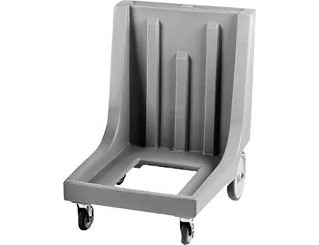 Cambro Dark Brown Camdolly with Handle and Rear Big Wheels for Catering Equipment, 23 1/2 x 36 1/2 x 29 7/8 inch -- 1 each.