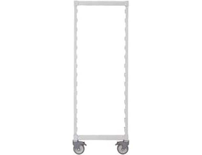 Cambro Speckled Gray Camshelving Mobile Post Kit, 35 x 18 inch -- 1 each.