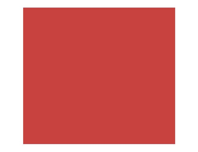 Cambro 6 Feet Hot Red Table Top Sneeze Guard, 73 7/8 x 16 1/2 x 24 1/2 inch -- 1 each.
