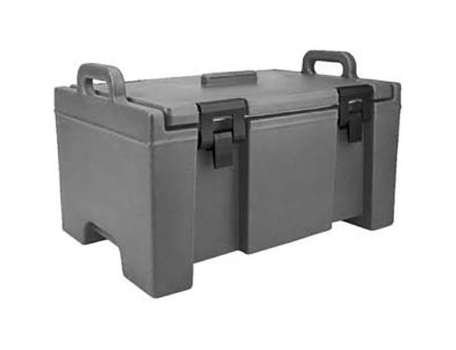 Cambro Granite Green 100 Series Ultra Camcarrier Insulated Food Server, 26 5/8 x 15 3/4 x 18 inch -- 1 each.