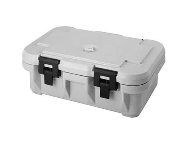Cambro Speckled Gray S-Series Ultra Pan Carrier Insulated Food Server, 25 1/8 x 8 5/8 x 17 1/8 inch -- 1 each.