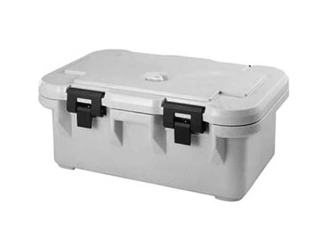 Cambro Speckled Gray S-Series Ultra Pan Carrier Insulated Food Server, 25 1/8 x 10 1/2 x 17 1/8 inch -- 1 each.