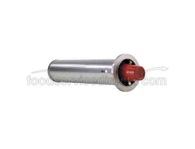 Dispense Rite ADJ-2 Stainless In-Counter Cup Dispenser, 6 7/8 x 22 9/16 inch -- 6 per case.