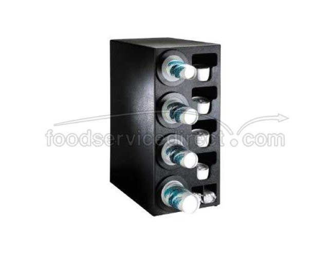 Dispense Rite BFL-C Black Countertop One Size Fits All Cup Dispensing Cabinet, 32 x 14 1/2 x 23 inch -- 1 each.