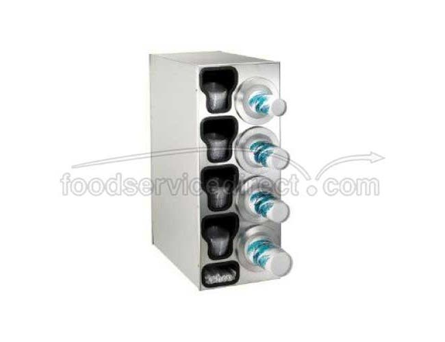 Dispense Rite BFL-C Stainless Countertop One Size Fits All Cup Dispensing Cabinet, 32 1/4 x 13 x 23 inch -- 1 each.