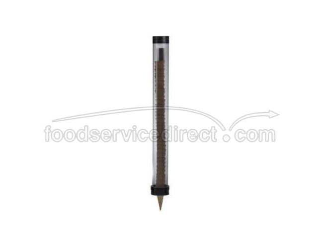 Dispense Rite Smoked Gray Ice Cream Cone Dispenser, 3 1/2 x 31 inch -- 2 per case.