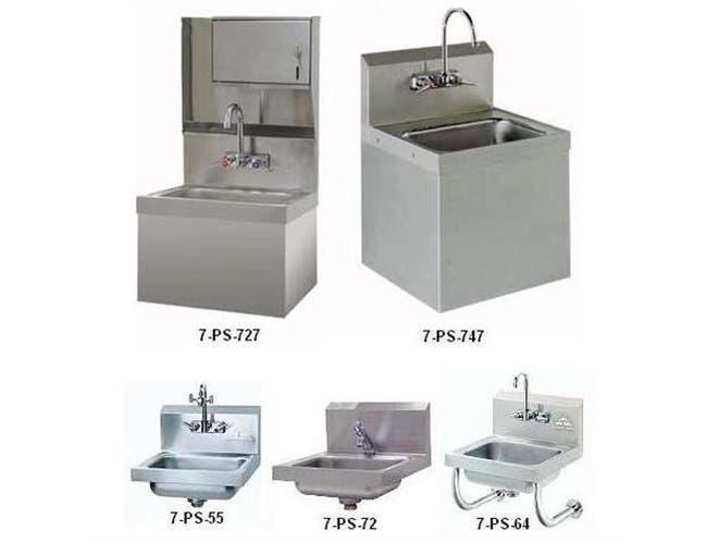 Handsink - Special Purpose Unit Bowl Size: 10 x 14 x 5 inch, Eye Wash Attachment -- 1 each.