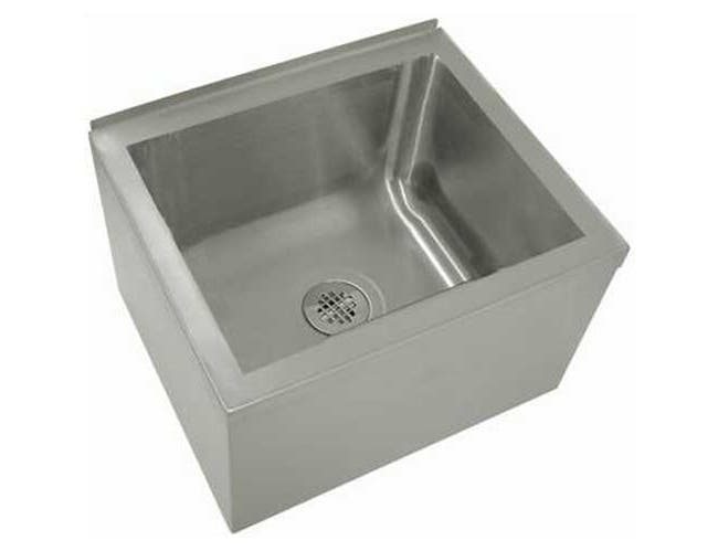 Stainless Steel Mop and Service Sink.Overall Height 16 inch -- 1 each.