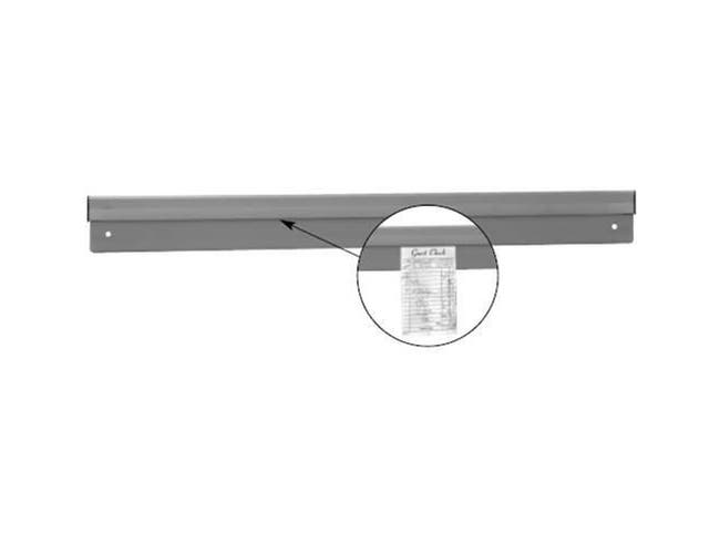 Aluminum Check Minder Wide Size: 24 inch -- 1 each.