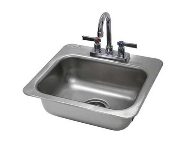 One Compartment Hand Use Drop-in Sink Overall Size : 17 x 15 inch -- 1 each.