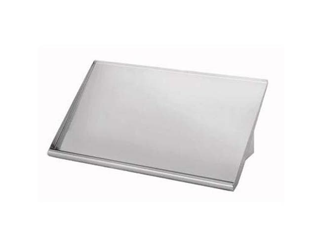Stainless Steel Solid Slant Sorting Rack Shelf 22 inch -- 1 each.