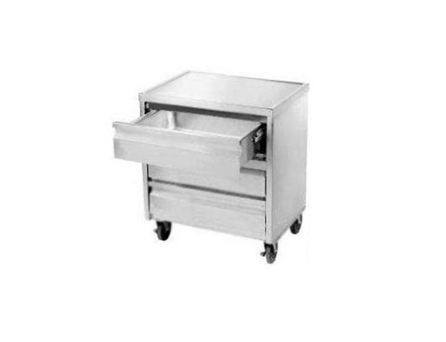 Stainless Steel Mobile Drawer Cabinet. Size : 20 inch X 20 inch -- 1 each.
