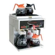 Grindmaster Stainless Steel PrecisionBrew Digital Automatic Twin Decanter Brewer, Cube Dimension - 19 x 16 1/4 x 17 3/4 inch -- 1 each.
