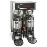 Grindmaster PrecisionBrew Digital Shuttle Twin Vacuum Insulated Coffee Brewer, Cube Dimension - 33 x 27.5 x 22 inch -- 1 each.