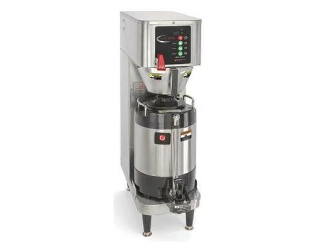 Grindmaster PrecisionBrew Digital Shuttle Single Airpot and Vacuum Insulated Coffee Brewer, Cube Dimension - 33 x 11 x 26 inch -- 1 each.