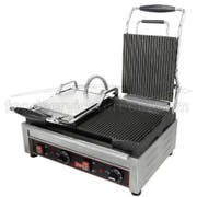Cecilware Stainless Steel Double Grooved Surface Sandwich/Panini Grill, 22.75 x 15 x 23.5 inch -- 1 each.