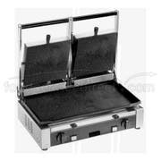Cecilware Stainless Steel Double Flat Surface Medium Duty Sandwich/Panini Grill, 20.25 x 12.5 x 19.75 inch -- 1 each.