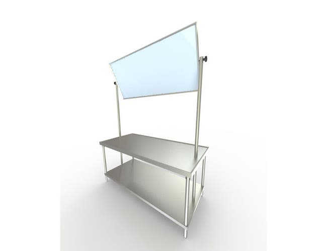 Aero DEMO Table - 14 Gauge, 36 inch Wide -- 1 each.