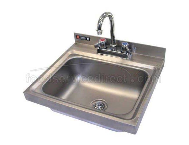 Aero 304 Stainless Steel NSF Hand Sink, 14 x 18 x 13 3/4 inch -- 1 each.