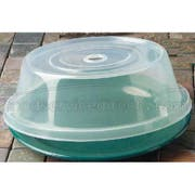 GET Enterprises inc Polypropylene Clear Plate Cover Only - for 9 to 9.75 inch Plate -- 12 per case.