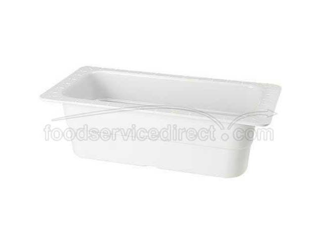 GET Enterprises inc Melamine One Third Size Insert Food Pan, 13 x 7 inch -- 3 per case
