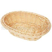 GET Enterprises inc Designer Polyweave Basket - Oval, 9 x 6.75 inch -- 12 per case