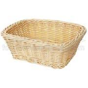 GET Enterprises inc Designer Polyweave Basket - Rectangular, 9.5 x 7.75 inch -- 12 per case