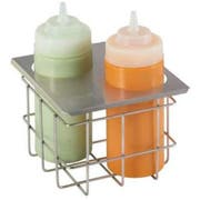 Server Cold Table Double Squeeze Bottle Holder, 8.125 x 6.437 x 7.062 inch -- 1 each.