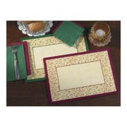 Hoffmaster 901-FD273 Fancy Swirl Duo Printed Placemat 9.75 x 14 inch -- 1000 per case.