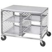 Channel Manufacturing Aluminum Wire Pan Slide All Welded Mobile Work Table, 31.5 x 42 x 25 inch -- 1 each.