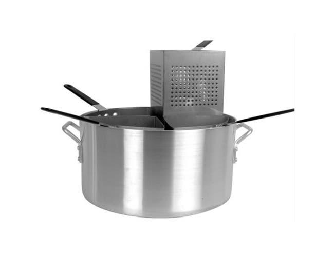 Thunder Group 5 Piece Aluminum Pasta Cooker Set -- 1 set.