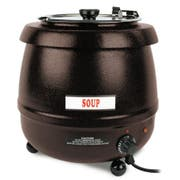 Thunder Group Stainless Steel Electric Brown Soup Warmer, 10.5 Quart -- 1 each.