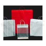 Kal Pac Corporation Plastic Loop Handle Shopping Bag - Thank You Design, 16 x 6 x 12 x 6 inch -- 300 per case.