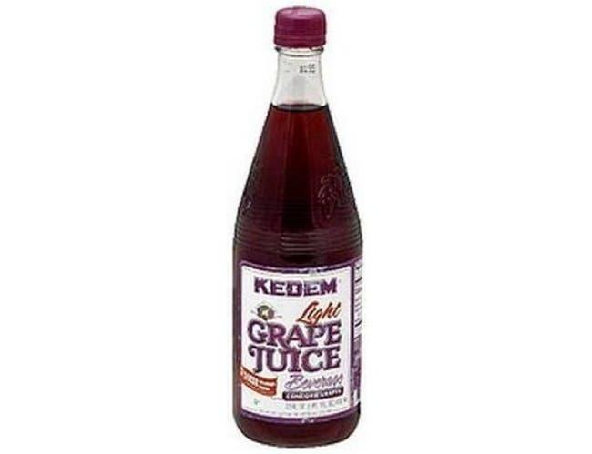 Kedem Light Grape Juice Beverage, 22 Ounce -- 12 per case.