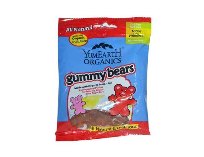 Yummy Earth Organic Gummy Bear, 2.5 Ounce -- 12 per case.