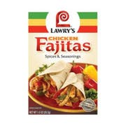 Lawrys Spices and Seasoning Chicken Fajita Mix, 1 Ounce -- 12 per case.