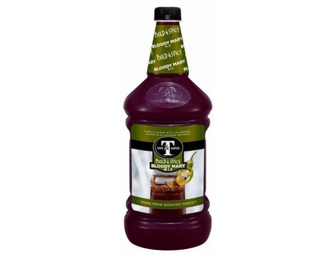 Mr and Mrs T Rich and Spicy Drink Mix, 1.75 Liter -- 6 per case.