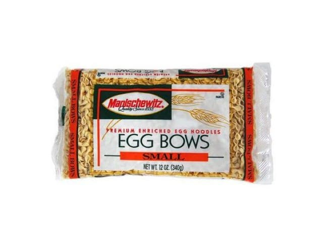 Manischewitz Noodle Egg Small Bow Bag - 12 ounce  -- 12 per case.