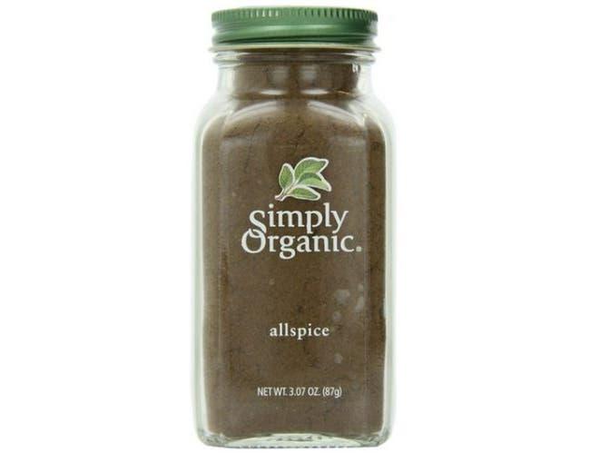 Simply Organic Ground Allspice, 3.07 Ounce -- 6 per case.