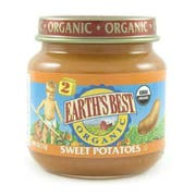 Earths Best 2nd Stage Organic Sweet Potato Vegetable, 4 Ounce -- 10 per case