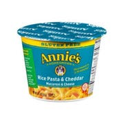 Annies Homegrown Rice Pasta and Cheddar Microwavable Mac and Cheese Cup, 2.01 Ounce -- 12 per case