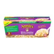 Annies Homegrown White Cheddar Microwavable Mac and Cheese Cup, 4.02 Ounce -- 6 per case