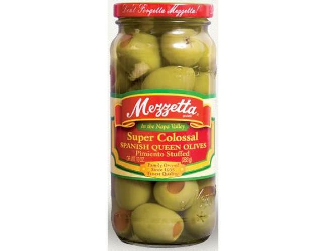 Mezzetta Pimiento Stuffed Olives, 10 ounce -- 6 per case