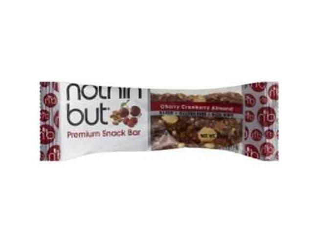 Nothin But Cherry Cranberry Almond Bar, 1.4 Ounce -- 12 per case.