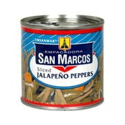 San Marcos Sliced Jalapeno Pepper, 11 Ounce -- 12 per case.