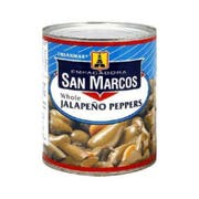 San Marcos Whole Jalapeno Pepper, 26 Ounce -- 12 per case.